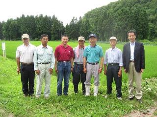 神代有機米生産研究会の役員さん