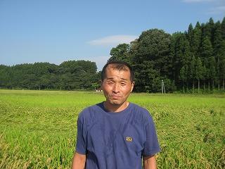鮭川村ササニシキ生産者の安喰さん