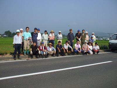 二本松特別栽培米コシヒカリ生産者