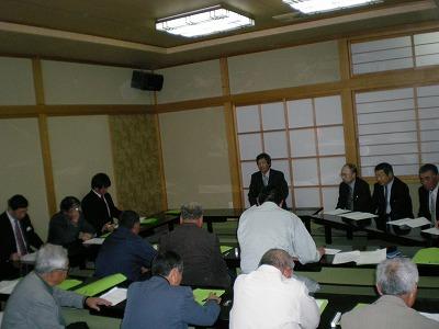 神代有機米研究会総会2010