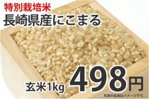 特別栽培米・長崎県産にこまる